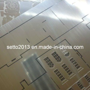 Etching Steel Parts, Photochemically Etching Fabrication