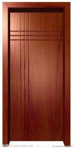 Green Environmental MDF Door with High Quality PVC Veneer