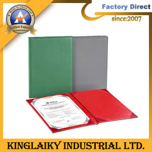 Promotional Colored Paper File Folder with Printing Logo (MF-07) pictures & photos