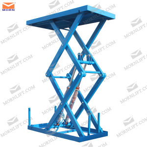 Small Scissor Hydraulic Lift Loading 2.5t pictures & photos