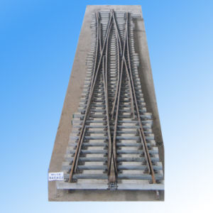 Pre-Asembled Double Slip Switch for Railway Line Construction