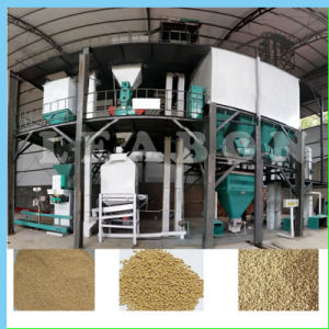 Small Animal Poultry Cattle Feed Pellet Production Line Plant pictures & photos