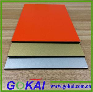 PVDF 3mm Black Good Quality Aluminium Composite Panel Prices Building Materials pictures & photos