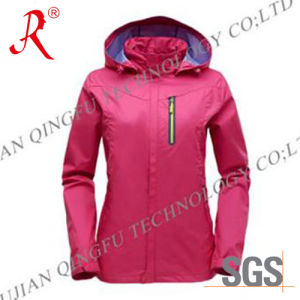 Waterproof and Breathable Ski Jacket (QF-6080) pictures & photos