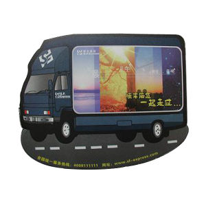 Car Shaped Mouse Pad for Give Away Item pictures & photos