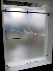Toughened Bathroom Glass Shower Door (5mm 6mm 8mm 10mm) pictures & photos
