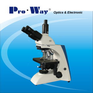 Professional LED Seidentopf Trinocular Biological Microscope and Upgrade Available (PW-BK5000T) pictures & photos