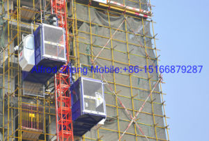 Hongda Group Nice Quality Construction Elevator pictures & photos