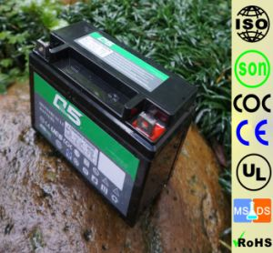 YTX6.5 (12N6.5 YB6.5L) 12V6.5AH High Starting Performance AGM Sealed maintenance free lead acid motorcycle battery pictures & photos