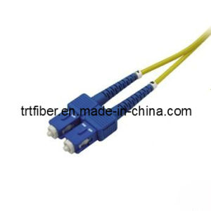 Sc Sm 9/125um Dx Fiber Optic Patch Cord pictures & photos