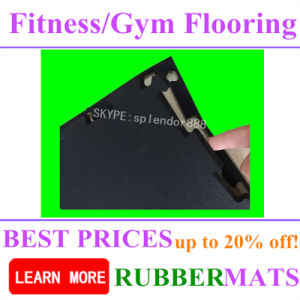 Best Quality Sports Rubber Floor for Interlock Gym Flooring Mat pictures & photos