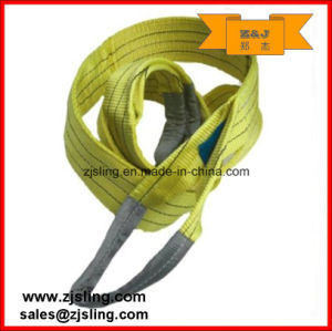 2t Polyester Flat Webbing Sling L=2m (can be customized) pictures & photos
