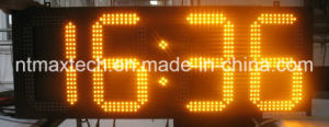 8 Inch Outdoor LED Digital Sign Temperature Sign Time Sign pictures & photos