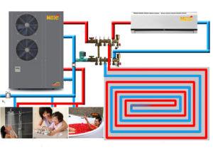 Low Weather Winter Using Floor / Radiator Heating Room Evi Ground Source Heat pictures & photos