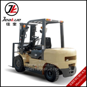 2016 New Product 4.0ton Counterbalanced Diesel Forklift pictures & photos