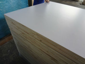 Textured White PVC / Acrylic Painted Block Board for RV Market, Polyester Blockboard pictures & photos