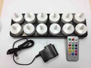 RECHARGEABLE LED CANDLE LIGHT WITH REMOTE CONTROL pictures & photos