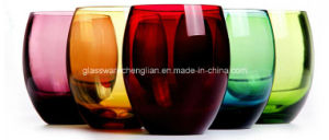Hand Made Colorful Whiskey Glass (B-C008) pictures & photos