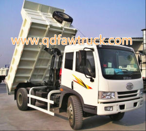 FAW Sinotruk C5b 4X2 10ton Small Tipper Truck pictures & photos
