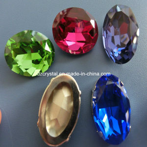 Crystal Stones for Clothing Glass Dresses Beads Fancy Stone pictures & photos
