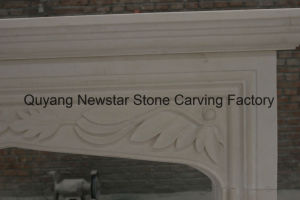 Granite Fireplace Surround Limestone Fireplace Mantel pictures & photos
