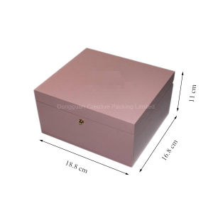 Custom Luxury Lacquered Wooden Single Watch Gift Box for Ladies pictures & photos