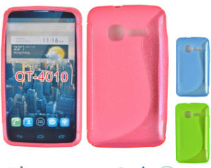 New S-Line Wave Soft TPU Gel Cover Case for Alcatel Ot-4010 pictures & photos