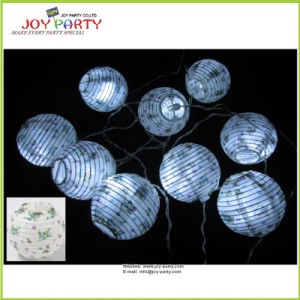 "3"" Paper Lantern String Light Home Decoration pictures & photos"