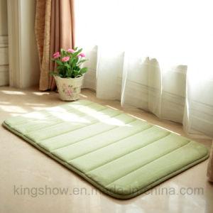Hand Printed Polyester Floor Memory Foam Bath Mat (50*80)