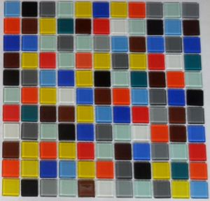 Swimming Pool Mosaic, Mosaic Wall Tile, Crystal Glass Mosaic (HGM377) pictures & photos