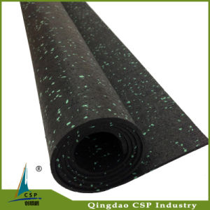 Good Quality Crossfit Gym Rubber Flooring Roll pictures & photos