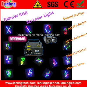 700MW 3D RGB Laser Disco Light (L3DF51RGB) pictures & photos