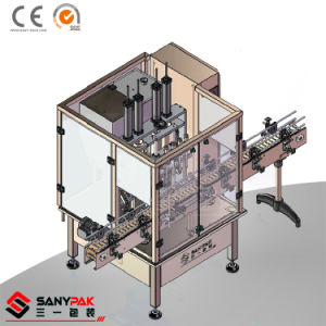 China High Speed 4 Head Liquid Linear Filling Machine with 500-1000ml pictures & photos