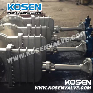 Non Rising Stem Knife Gate Valves for Gas