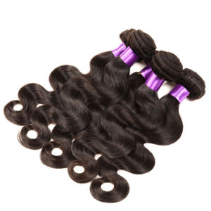 Peruvian Virgin Hair Body Wave 4 Bundles 8A Grade Virgin Unprocessed Human Hair Soft Peruvian Hair Weave Bundles pictures & photos