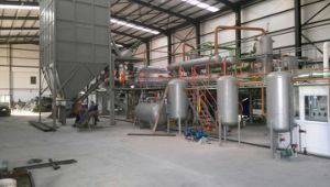 Waste Tyre Fully Continuous Type Pyrolysis Plant on Hot Sale! ! ! pictures & photos
