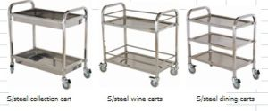 S/Steel Service Cart pictures & photos
