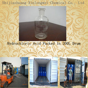 Factory Supply Hydrochloric Acid 32% pictures & photos