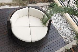 4-Piece Wicker Outdoor Sofa Coffee Sofa Set (BZ-SF036)