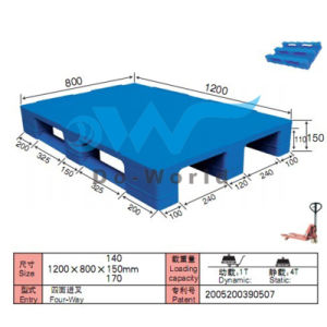 Flat Surface Heavy Duty Pallet (In Steels) Dw-1208A2 pictures & photos