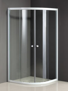 Hot Sale Quadrant Shower Door with 6mm Tempered Glass pictures & photos