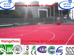 Easy to Clean Outdoor Basketball Court Sports Flooring pictures & photos