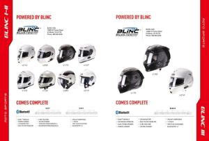 Helmet with Blinc Bluetooth, China Top Quality, ECE, DOT pictures & photos