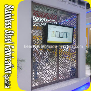 Laser Cut Decorative Metal Stainless Steel Wall Partition pictures & photos