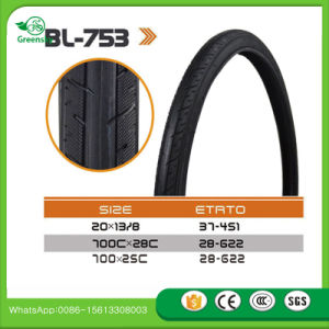 Low Price Guaranteed Solid Rubber Bicycle Tire 26 2.125 pictures & photos