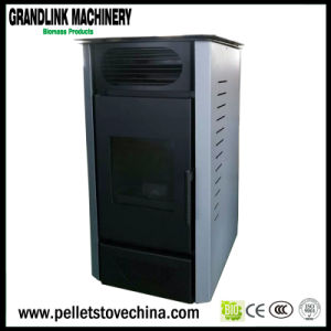 Indoor Using Ce Certified Automatic Pellet Air Stove with Remoter Control