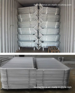 Hot Dipped Galvanized Portable Crowd Control Barriers for Sale/Portable Fence pictures & photos