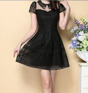 OEM High Quality Office Ladies Sweet Fashion Summer Dress pictures & photos