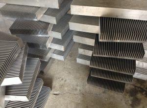 Radiator Aluminium Heat Sink for Wind Controller pictures & photos