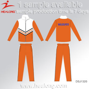Healong Hot Sale Custom Sublimation Tracksuit with High Quality pictures & photos